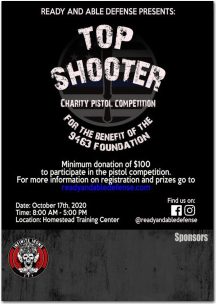 Top Shooter Pistol Competition