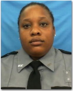 Correctional Officer Trainee Whitney Cloud